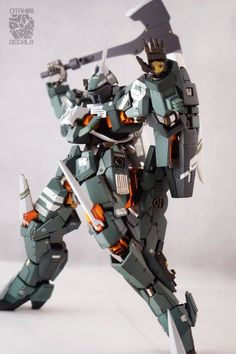 Custom Build: 1/100 Claymore Graze - Gundam Kits Collection News and Reviews