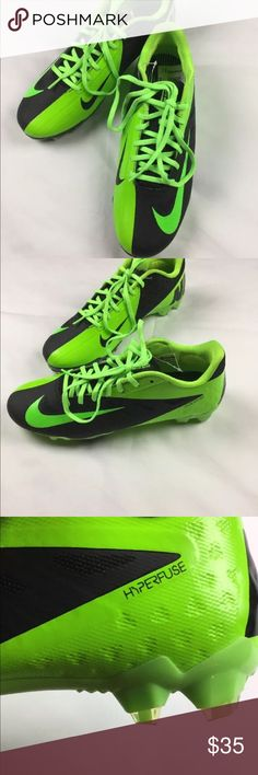 Nike men's soccer cleats size 9 green hyperfuse New Nike vapor elite hyperfuse green soccer cleats size 9 Nike Shoes Athletic Shoes