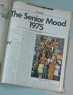 17Intro  Seventeen Magazine featuring the class of 75 Cleveland Heights High