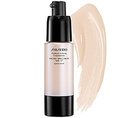 Shiseido - Radiant Lifting Foundation Broad Spectrum SPF 17...From a product junkie...BEST stuff ever, and I've tried it all. My shade is 120 in winter, 130 in summer. LOVE, LOVE this stuff. Lasts forever too.