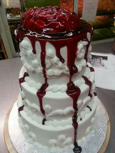Zombie cake-pretty freaking cool!