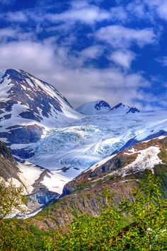 As much as I hate the cold weather I would travel here. Leanard Glacier - Prince William Sound, Alaska