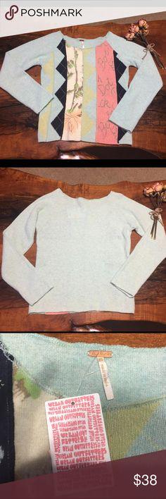 💙FREE PEOPLE SWEATER💙 NWT 78% WOOL 22%nylon Free People Sweaters