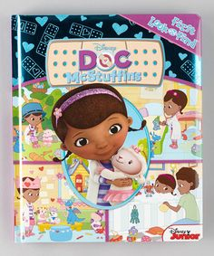 Take a look at this Doc McStuffins First Look and Find Padded Board Book by Doc McStuffins on #zulily today!