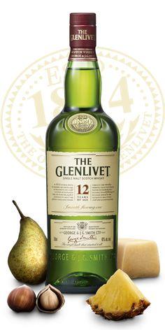 The Glenlivet 12 year old Single Malt Whisky