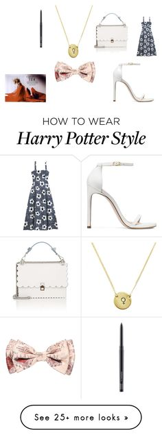 """His accent"" by nadaanja on Polyvore featuring Maryam Nassir Zadeh, Stuart Weitzman, Fendi, Warner Bros. and MAC Cosmetics Harry Potter Style, Harry Potter Characters, Warner Bros, Stuart Weitzman, Mac Cosmetics, Fendi, Fandoms, Hair Styles, Polyvore"