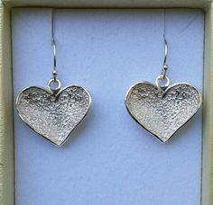 Silver Dangle Earrings Sterling Silver 925 Earrings by TalyaDesign