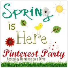 Pinterest Party Participant!