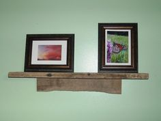 Barn Wood Floating Wall Shelf / Book Shelf by 3SistersCountryStore, $52.00