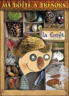 Ma boîte à trésor - voltz Crafts For Kids, Arts And Crafts, Montessori Education, Ecole Art, Outdoor Learning, Preschool Kindergarten, Garden Art, Art Plastique, Tree Art