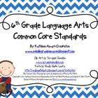Common Core Posters and Handouts for 6th Grade Language Arts - Middle Grades Maven