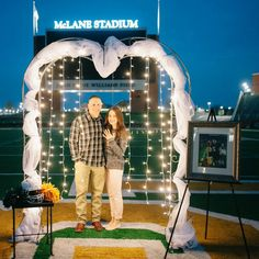 Former Baylor linebacker Eddie Lackey is engaged! What better place to propose than McLane Stadium? #SicEm