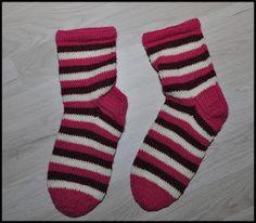 Novita Nalle socks, striped.