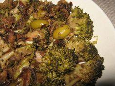 Rocculi affucati (broccoletti siciliani cotti nel vino)