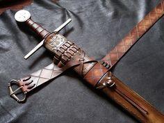 sword scabbard www.dbkcustomswords.com