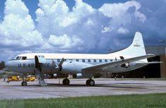 Convair C-131/T-29 Samaritan, of US Louisiana National Guard 1978.