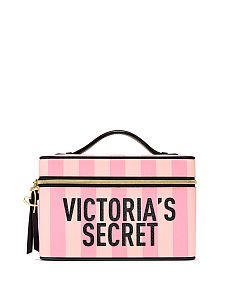 Cosmetic Bags – Victoria's Secret - Modern Victoria Secret Makeup, Victoria Secret Bags, Vs Pink, Vanity Bag, Chelsea, Beauty Case, Pink Accessories, Cosmetic Case, Street Fashion