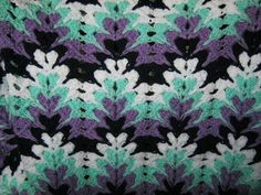 Grandma Spiked My Ripple Blanket pattern by Darlisa Riggs love these colors The post Grandma Spiked My Ripple Blanket pattern by Darlisa Riggs appeared first on Crochet ideas. Crochet Zig Zag, Crochet Ripple Afghan, Afghan Crochet Patterns, Baby Blanket Crochet, Crochet Baby, Crochet Afghans, Baby Afghans, Crochet Blankets, Baby Blankets