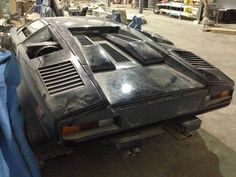 1988 Lamborghini. I think everyone would like to discover this in the back of a barn/garage.