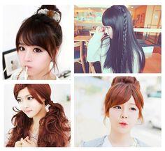 """Para lucir un peinado """" kawaii """" no es necesario exagerar. Éste puede ser muy sencillo pero tierno y atractivo al mismo tiempo."""