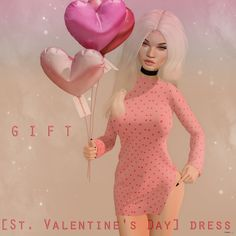 Valentines Day Dress 1L Promo Gift by RUST REPUBLIC