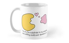 Enzyme and Substrate Love Story mug - by the Amoeba Sisters #science #biology