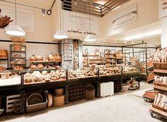 Bakery cafe interior design.