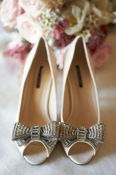 Intimate Rustic County Lodge Wedding in Australia | Bridal Musings - SHOES! <3