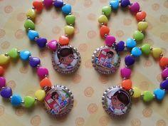 set of 4 Doc mcstuffins bracelets... available for by bellecaps, $8.00