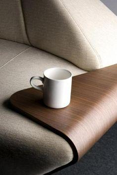 Produktdesign design ideen beistelltisch fürs sofa