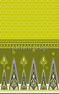 Saree In Spring created by Martina Stadler offered as a vector file on patterndesigns.com