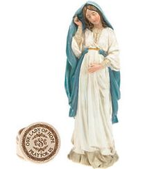 Personalized Our Lady of Hope Statue and Trinket Box Gift Set Religious Gifts, Our Lady, Trinket Boxes, Statue, Inspiration, Fashion, Biblical Inspiration, Moda, La Mode