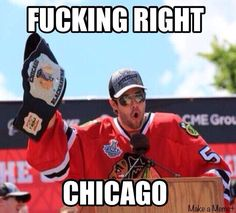 Blackhawks humor...... Corey Crawford