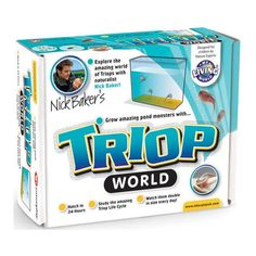 Interplay Triop World Hatch living creatures from the age of the dinosaurs and see how your Triops double in size each day. Triops hatch in 24 hours, can grow up to 4cm long and have an incredible life cycle. You may also  http://www.MightGet.com/january-2017-13/interplay-triop-world.asp