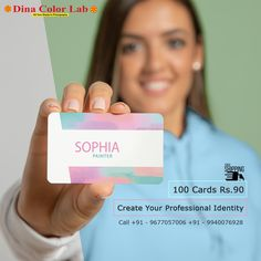 Visiting Card Printing, Business Cards Online, Personal Identity, Create Yourself, Smooth, Free Shipping, Personal Branding