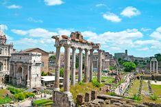 Quais são os 10 principais monumentos turísticos de Roma?
