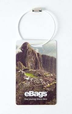 """IT'S CONNECTED TRAVEL THURSDAYS! When you're traveling and your bag goes MIA...this app-enabled tag will help get it back to you safely! """"Like"""" if you'd spend $5 to know your bag can be found if lost! #yourjourneystartshere #MYeBags #wanderlove #ConnectedTravelThursdays"""