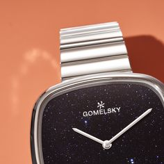 Gomelsky's signature Eppie watch is now available in new materials! Shop now at gomelskywatches.com Shinola Detroit, Stainless Steel Case, Watches, Shop, Silver, Collection, Hipster Stuff, Money, Clocks