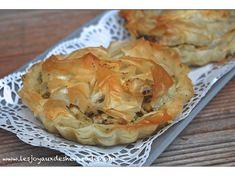 idée recette salée originale avec la pâte à filo - Les joyaux de sherazade : Recettes de cuisine algerienne et de monde.