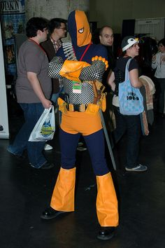 Another take on the scales. Deathstroke the Terminator by edwick, via Flickr