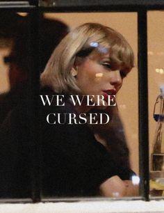 Pinterest: kgtopel we were cursed. reputation, taylor swift, blonde, short, bangs, getaway car, yellow