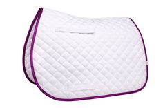 Léttia Sparkle Saddle Pad All Purpose Purple Trim