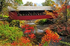 Brattleboro, Vermont - The Creamery Covered Bridge