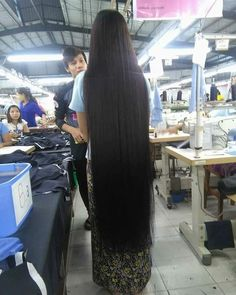(notitle) Sure, the bushy perms of the might be out of vogue, but there are abundance (generic t Permed Hairstyles, Down Hairstyles, Thick Hair Bob Haircut, Air Dry Hair, Natural Hair Styles, Long Hair Styles, Types Of Curls, Long Black Hair, Super Long Hair