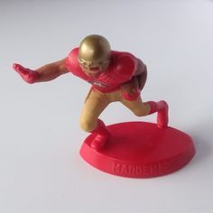 McDonald's EA Sports 2014 NFL Madden Football figure Toy San Francisco 49ers  #EASports