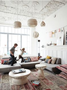 looking for this style ceiling lights-who is maker or seller
