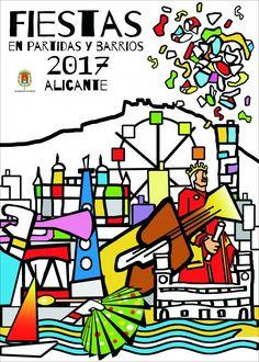 Fiestas en Partidas y Barrios 2017 #Alicante #CostaBlanca