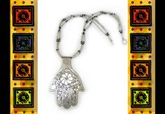 Hey, I found this really awesome Etsy listing at https://www.etsy.com/listing/166963537/mega-hamsa-silver-hand-necklace-and