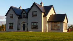 New Builds Kildare Ireland Homes, House Ireland, Nice Houses, Amazing Houses, Dream Houses, House Designs Ireland, Dormer House, Two Storey House Plans, Self Build Houses