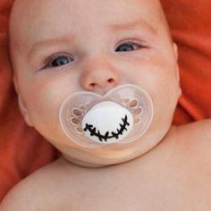 Th nightmare before christmas inspired baby binky!